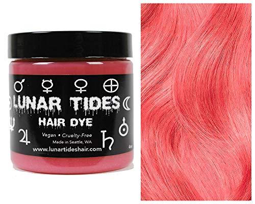 Lunar Tides Haarfärbemittel Semipermanenter Haarfarbstoff Coral Pink Rosa