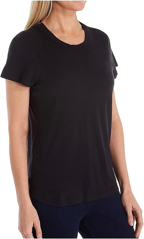 Splendid Women's Crewneck Modal Jersey Short Sleeve Tee