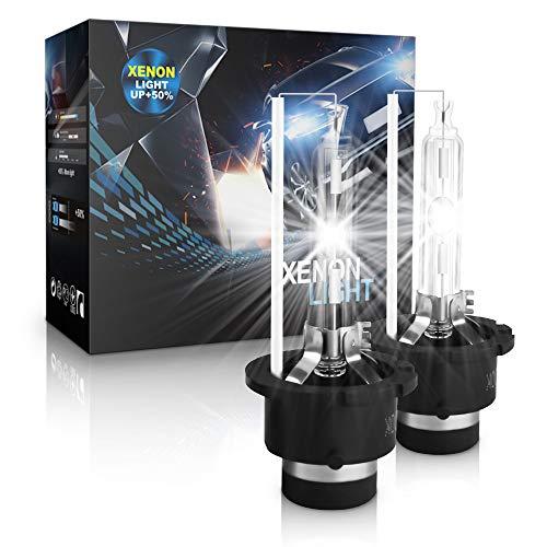 D2S Xenon Brenner - Aolead Hid Xenon Scheinwerferlampe 12V 35W, 6000K (2 Lampen)