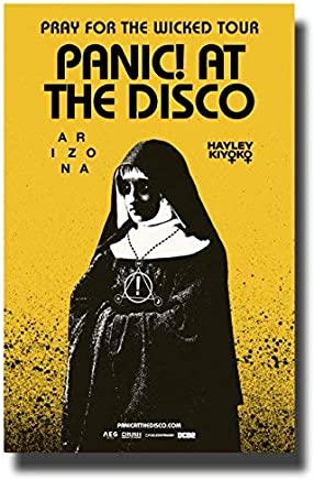 Panic! at The Disco Poster Concert Tour Promo 11 x 17 inches 2018 Pray for The Wicked [並行輸入品]