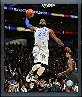LeBron James Cleveland Cavaliers 2017 NBA All-Star Game Action Photo (Size: 12