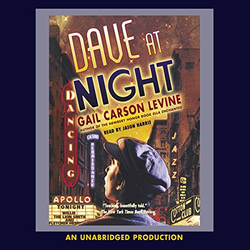 Dave at Night audiobook cover art