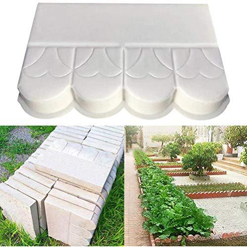 Cerca de moldes de plástico Flor piscina ladrillo moho jardín de cemento del molde Camino de bricolaje molde del molde de pavimentación