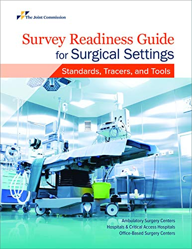 51QiNiDtMaL - Survey Readiness Guide for Surgical Settings: Standards, Tracers, and Tools (Soft Cover)