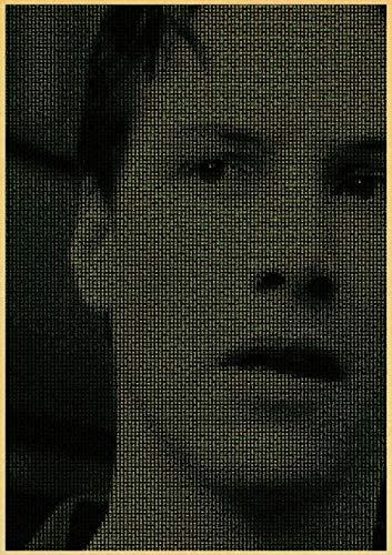 Rompecabezas de 1000 piezas para adultos y niños The Matrix Keanu Reeves Neo T9 de 75 x 50 cm, sin marco