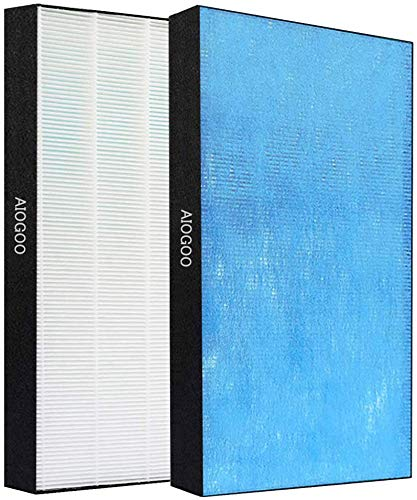AIOGOO 空気清浄機 交換用集塵フィルター 対応品番:KAFP029A4 静電HEPAフィルター 互換品