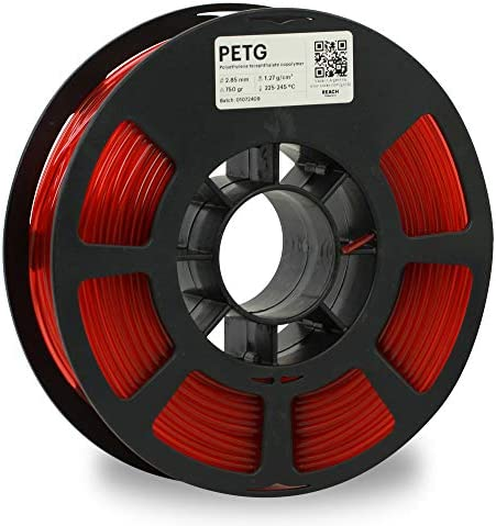 KODAK PETG Filament 2 85mm for 3D Printer Translucent Red PETG Dimensional Accuracy 0 02mm 750g product image