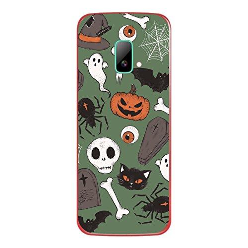 Disagu SF-sdi-4195_1211 Design Folie für Wiko riff Rückseite - Motiv Halloweenmuster 03