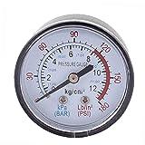 FEDSJUIHYG Professionnel Vente Chaude Compresseur D'air Pneumatique Jauge Hydraulique 0-180psi