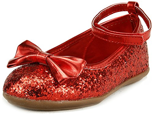 Top 10 best selling list for red flat doll shoes