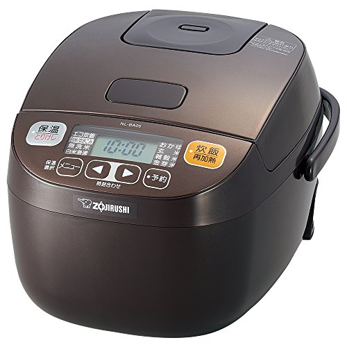 Zojirushi Rice Cooker Microcomputer Formula - 3 People - Brown NL-BA05-TA (Japan Import)