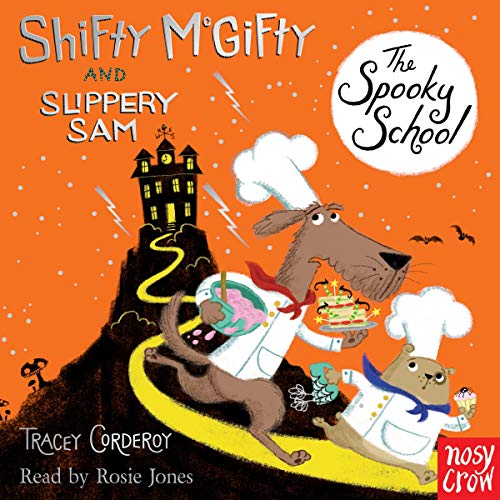 Shifty McGifty and Slippery Sam: The Spooky School cover art