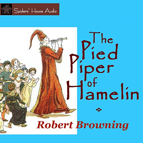 The Pied Piper of Hamelin  By  cover art