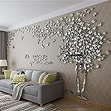 Tridimensionali albero adesivi murali, crea la tua stanza piena di natura.