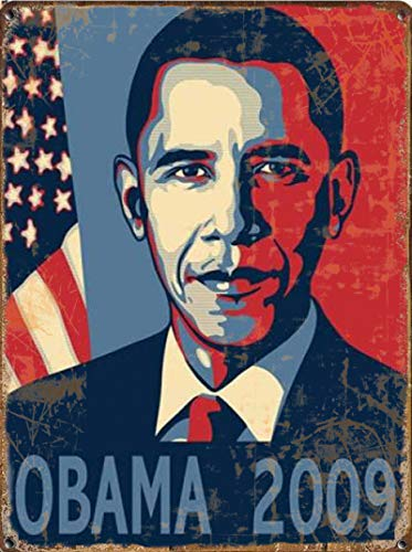 Barack Obama Art Blechschild It is a way of life Blechschilder Retro Dekoration Bier Blechschilder Wanddekoration 20x30cm