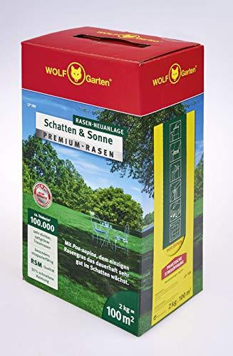 WOLF-Garten - Premium-Rasen »Schatten & Sonne« LP100 ; 3820040