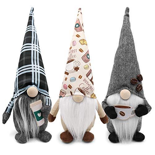Coffee Gnome Plaid Swedish Tomte Gn…