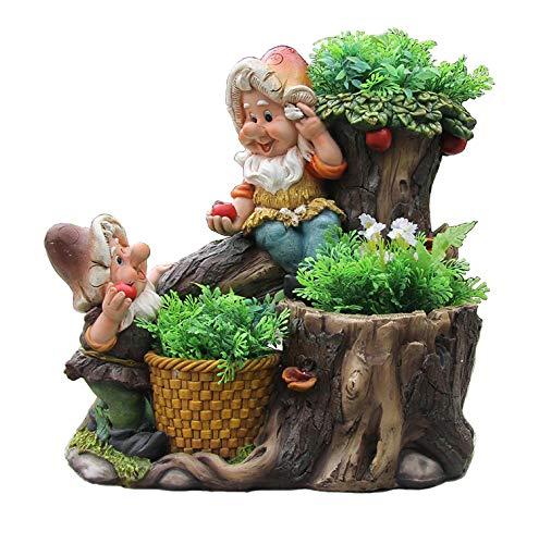 Design 1 Frosch XXL 33 cm Hoch 11149-1 Deko Garten Gartenzwerg Figuren Dekoration - 3