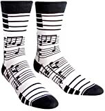 Sock It To Me Men's Foot Notes Crew Socks