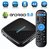 TV Box Android 9.0-【4GB RAM+64GB ROM】 Dolamee 4K Ultra HD Smart TV Box avec Dual...