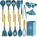 20-Pieces GoLife Silicone Cooking Utensil Set
