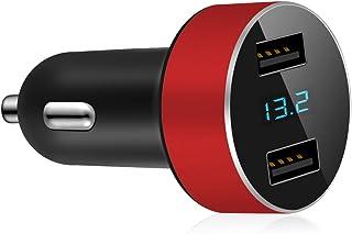 GRK® Intelligent minidaddare - iSmart bilcigarettändare ingång 12-24v – utgång: USB-portar – 5 V/3.1A – aluminiumlegering...