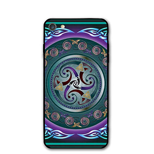 Celtic Wicca Irish Wiccan iPhone 7 8 Plus 7plus 8plus Phone Case Cover Theme Decorative Mobile Accessories Ultra Thin Lightweight Shell Pattern Printed Ornament Decorations