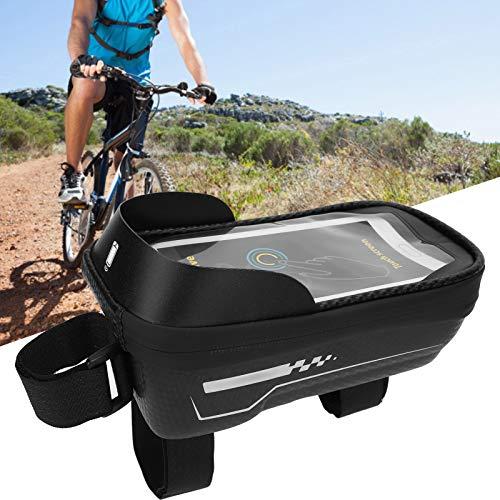 Bolsa de Almacenamiento, Bolsa de Almacenamiento para teléfono móvil de Bicicleta, Accesorios de Tubo de sillín para Ciclismo