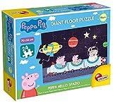 Lisciani - Juego Peppa Peppa Pig, Suelo Grande, Peppa en el Espacio