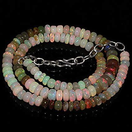 GemAbyss Beads depot Ranking TOP8 Gemstone Natural Ethiopian Fire Rondell Welo Opal