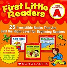 First Little Readers: Guided Reading Level A: 25 Irresistible Books That Are Just the Right Level for Beginning Readers (Multiple copy pack) - Common