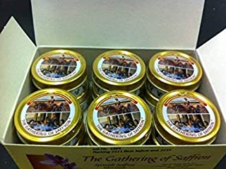 The Gathering of Saffron Brand Saffron 12 tin x 1 gm
