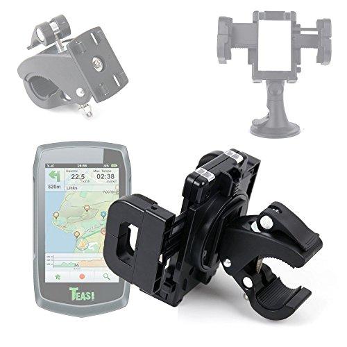 DURAGADGET Support vélo/Voiture 4 en 1 pour Teasi One | One2 | One3 | Pro | Pro Pulse | Volt GPS de randonnée pédestre ou Cycliste – Fixation sur Guidon/Grille d'aération/Pare-Brise