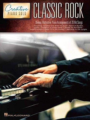 Creative Piano: Solo Classic Rock Pf Solo Bk: Noten, Lehrmaterial für Klavier