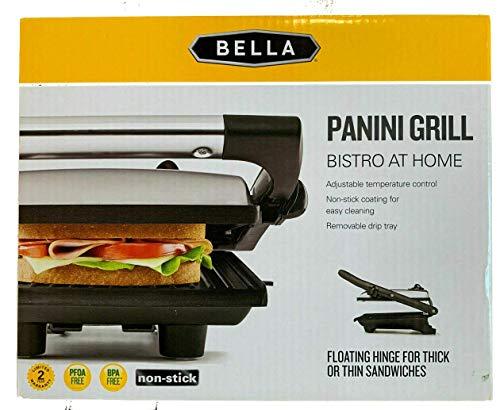 Bella BLA Grill Panini SS WM Only