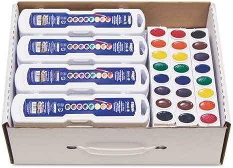 Prang New product type - Professional Watercolors Ranking TOP2 Assorted 36 8 Colorsmasterpack