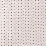 160CM * 50CM Baumwolltuch Weiß Polka Dot Stoff für DIY