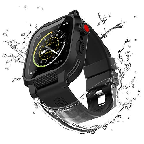IP68 Waterproof for Apple Watch Case 44mm Series 4...