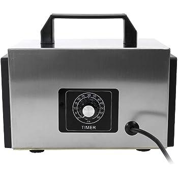 KKmoon 220V 20g Generador de Ozono con Función de Temporización,Ozonizador con Interruptor de Tiempo,Purificador de Aire,Esterilizador: Amazon.es: Hogar