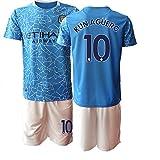 TAOZHUANG 20/21 Niños KUNAGUERO 10# Camiseta de fútbol Camiseta de Jugador (Niños de 4 a 13 años) (22)