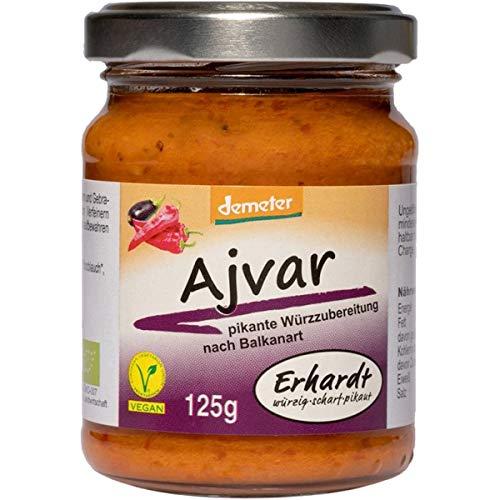 Erhardt Ajvar (125 g) - Bio