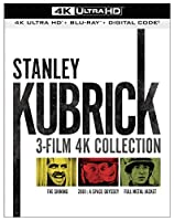 Stanley Kubrick: 3-Film 4K Collection [Blu-ray]