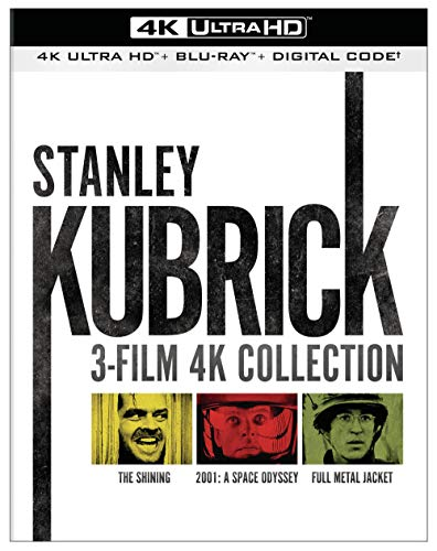 Kubrick 3-Film Collection (4K Ultra HD + Blu-ray + Digital)