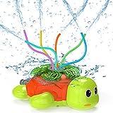 Kiztoys Giocattoli Irrigatori Estivi Tartaruga Doccia per Bambini, Famiglia Gioca in Giardino, Rimozione della Polvere e Irrigazione, Giocattolo Cani