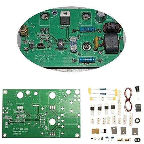 ZXJUAN draadloze besturing afdichting versterker radio zender korte golf development kit DIY 45W SSB HF liniaal