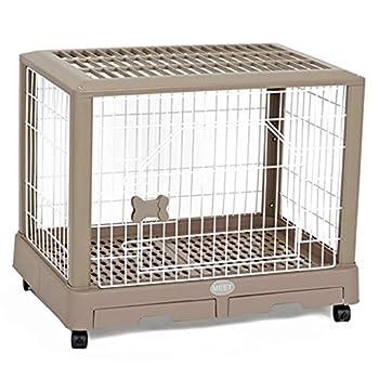 Chenils Cages Cage de Chat pour Chien Chiot Cage pour Chien Nounours clôture Petit Chien intérieur avec Plateau de Toilette Petit nid pour Animaux de Compagnie Universel Cages