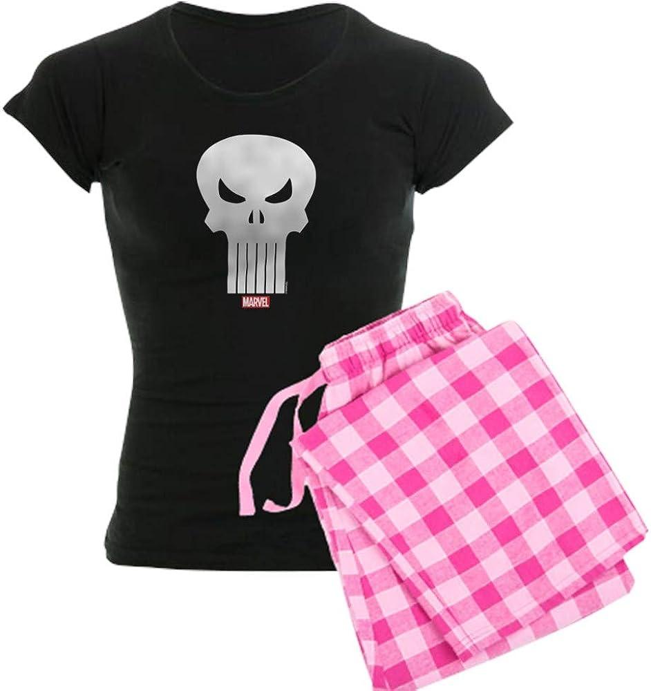 CafePress Punisher Skull PJs Sales results No. 1 Max 84% OFF Women's