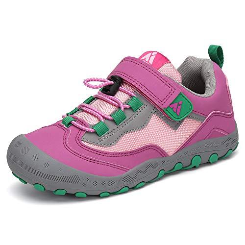 Mishansha Kids Shoes Durable Children Hiking Shoe Girl's Running Tennis Athletic Sneakers Pink Little Kid 3.5