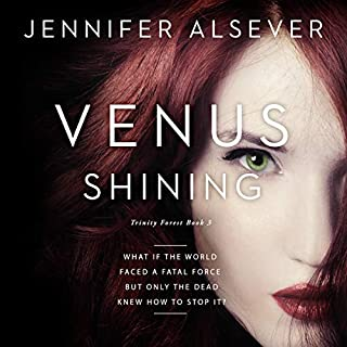 Venus Shining audiobook cover art
