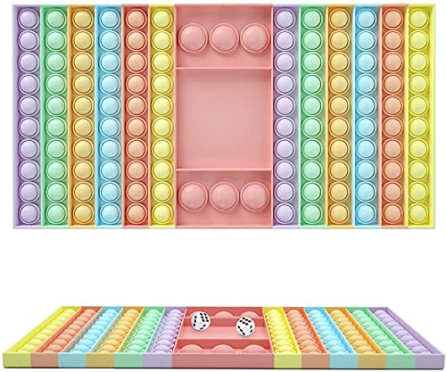 BST-MAI Push And Pop 126 Bubbles Sensory Fidget Toy, Giocattolo Sensoriale per Autismo Bisogno Speciale Antistress Ansia Sollievo, Spremere Giocattoli